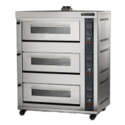 GAS HEATED BAKING OVEN (BJY-G180-3PRM)