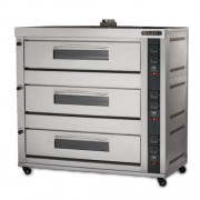 GAS HEATED BAKING OVEN (BJY-G270-3PRM)