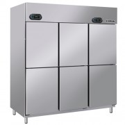 Dual Upright Chiller & Freezer (6 Door)  BSDU4C2F/Z