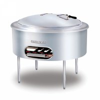 STAINLESS STEEL GAS KWALI COOKER