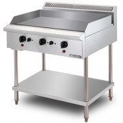 Stainless Steel Gas Griddle Free Standing (GG3BFS-17)