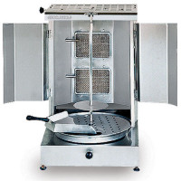 STAINLESS STEEL GAS KEBAB MACHINE (SHAWERMA GRILLER)