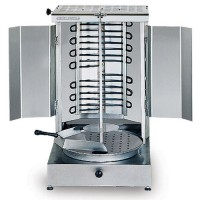 STAINLESS STEEL ELECTRICAL KEBAB MACHINE (SHAWERMA GRILLER)