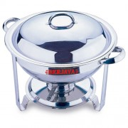 STAINLESS STEEL CHAFING DISH WITH LID KNOB