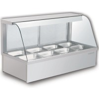 STAINLESS STEEL HOT FOOD DISPLAY