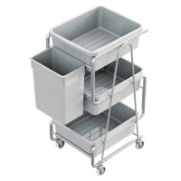 CUTLERY TROLLEY - KNOCK DOWN